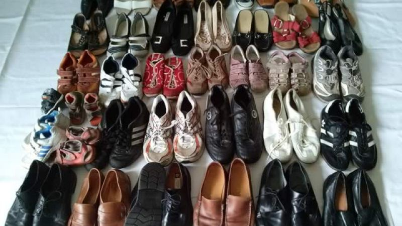 Second hand shoes Africa quality